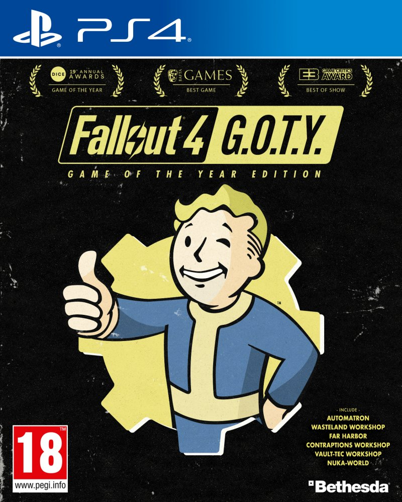 Annunciata la Fallout 4: Game of the Year Edition che comprende tutti i DLC del gioco