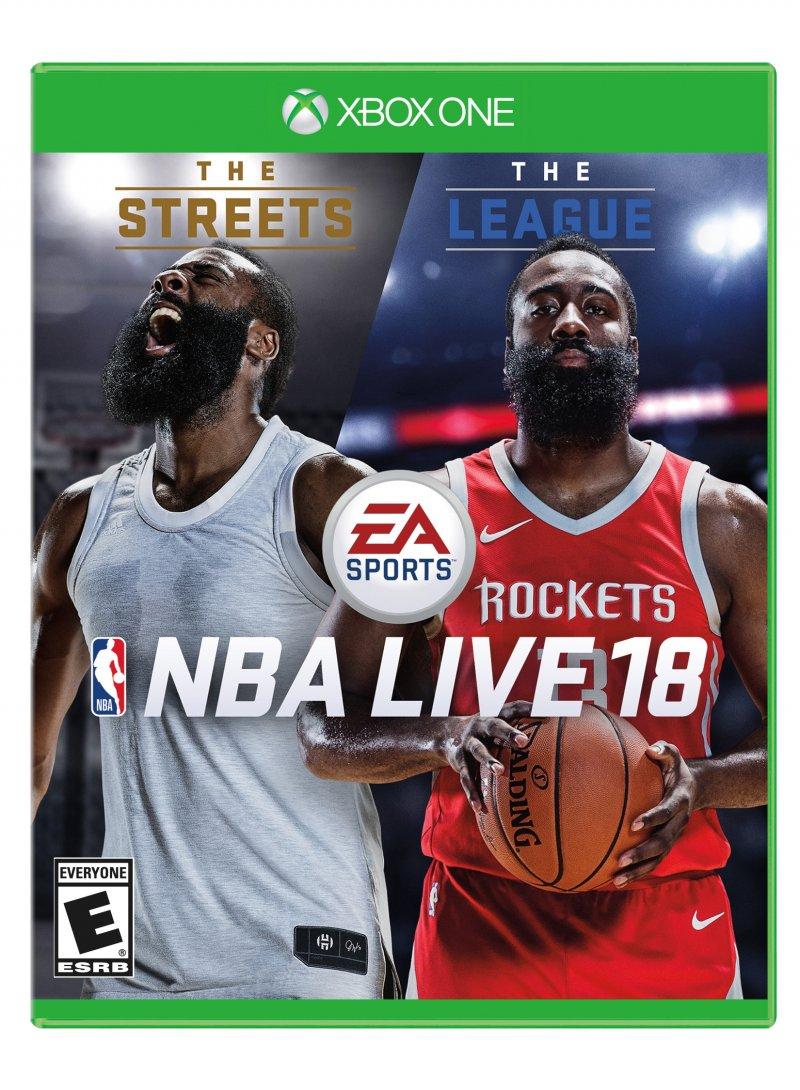Annunciata la data d'uscita di NBA Live 18, James Harden è l'atleta di copertina