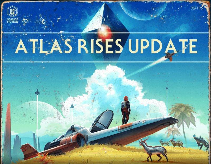 No Man's Sky torna tra i giochi più giocati di Steam: l'aggiornamento Atlas Rise piace ai giocatori