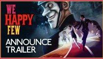 We Happy Few - Trailer con la data di lancio