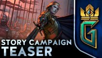 Gwent: The Witcher Card Game - Il trailer della campagna single player