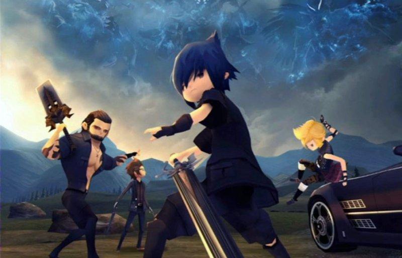 Il trailer di lancio di Final Fantasy XV Pocket Edition
