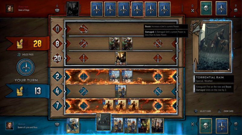 Il single player del Gwent: The Witcher Card Game