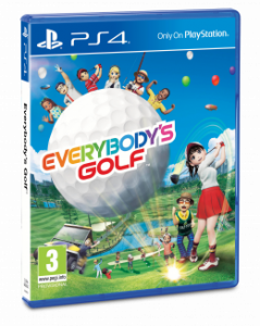 Everybody's Golf per PlayStation 4