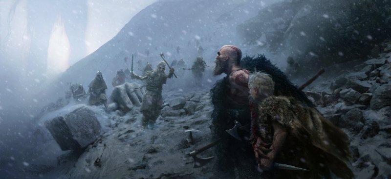 God of War proporrà dei boss opzionali, per Santa Monica l'assenza del salto non sarà un problema