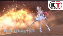 "Blue Reflection - Trailer ""Study, play, fight!"""