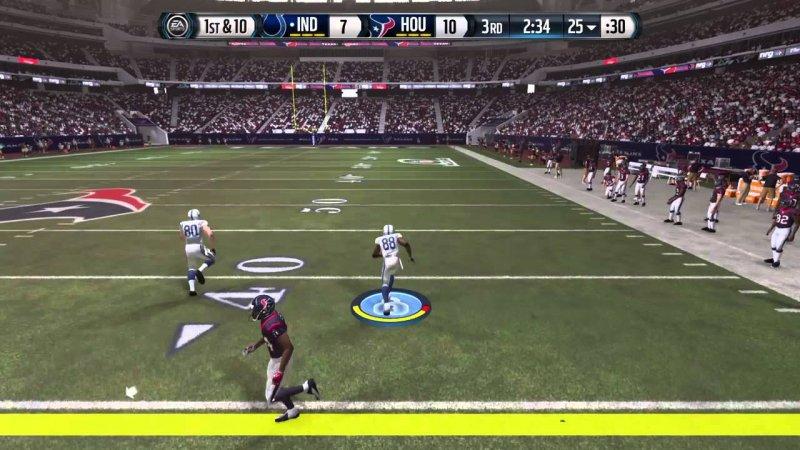 Il lancio lungo di Madden NFL 18