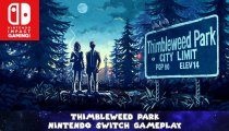 Thimbleweed Park - Video gameplay della versione Nintendo Switch