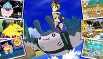 """Pokémon Ultrasole e Pokémon Ultraluna - Il trailer """"Sfreccia tra le Onde"""""""