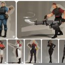 Team Fortress 2 doveva avere delle versioni femminili dei personaggi, poi abortite