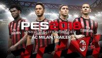 PES 2018 - Il trailer che annuncia la partnership mondiale con l'AC Milan