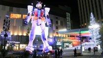 Il GUNDAM gigante a Tokyo