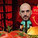 Tommaso Valentini si traveste da psicopatico per l'A Pranzo Con RUINER