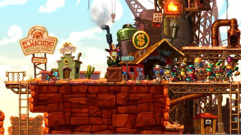 Si torna in miniera nella recensione di Steamworld Dig 2