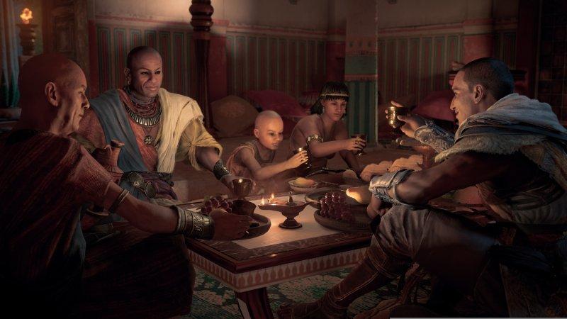 Un pomeriggio in compagnia di Assassin's Creed Origins