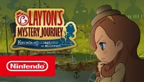 Layton's Mystery Journey: Katrielle e il Complotto dei Milionari – Trailer di lancio
