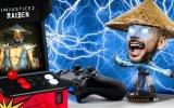 Tommaso Valentini mostra Raiden e Black Manta nella nuova Sala Giochi di Injustice 2 - Video