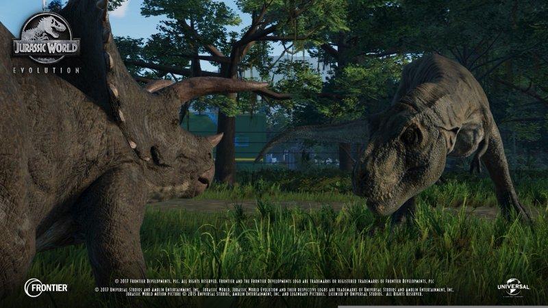 Jurassic World Evolution parte da Planet Coaster