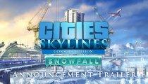 Cities: Skylines - Snowfall - Trailer della versione console