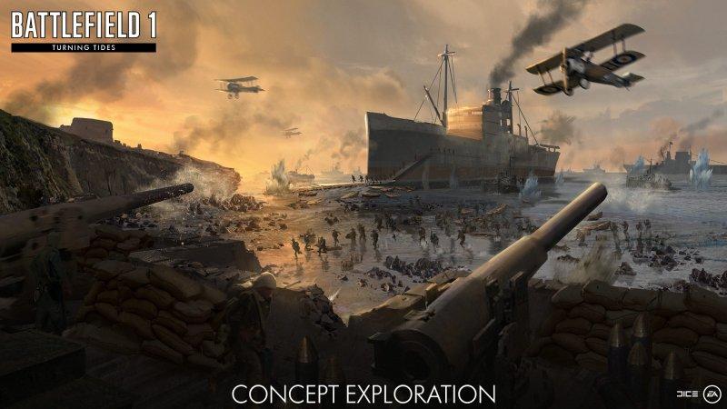 Provato in anteprima Turning Tides, il nuovo DLC di Battlefield 1