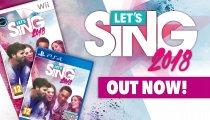 Let's Sing 2018 - Trailer di lancio