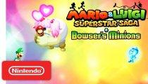 Mario & Luigi Superstar Saga + Scagnozzi di Bowser - Trailer con i giudizi della stampa specializzata