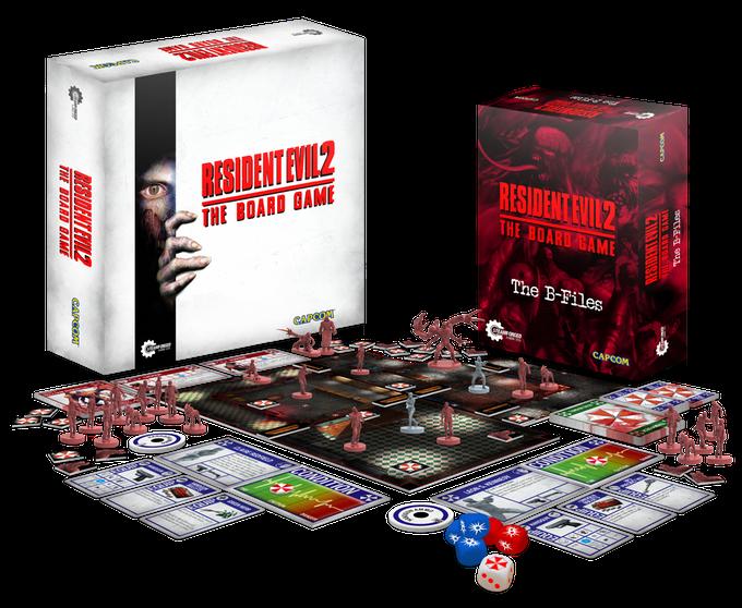 Il gioco da tavolo di Resident Evil 2 raggiunge quasi un milione di euro su Kickstarter