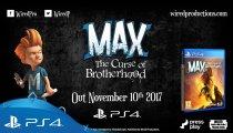 Max: The Curse of Brotherhood - Trailer con la data di lancio su PlayStation 4