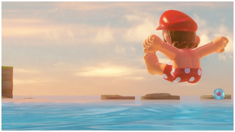 Dipendenza da photo mode in Super Mario Odyssey