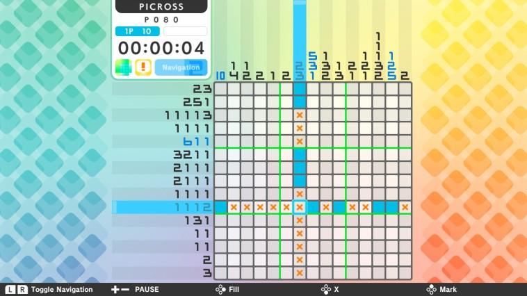 Un sacco di nonogrammi nella recensione di Picross S su Switch