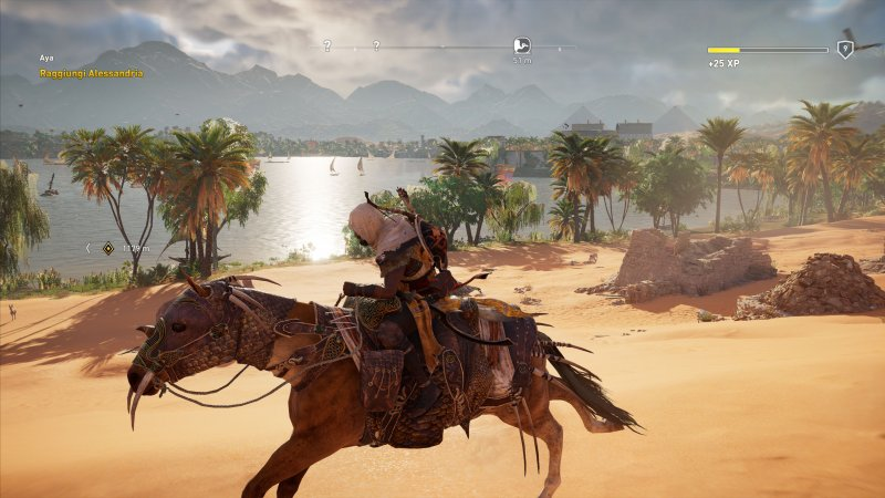 Assassin's Creed Origins: Gli Occulti si mostra nel trailer di lancio