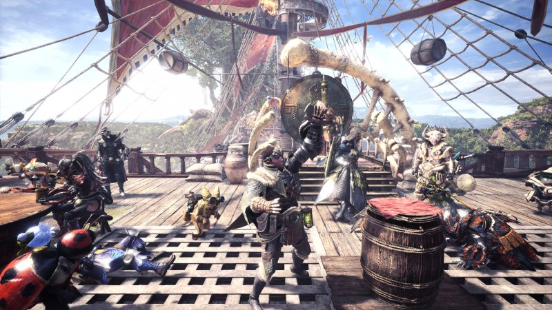 Da Parigi al mondo di Monster Hunter World