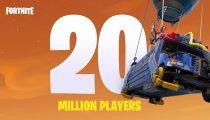Fortnite - Un video festeggia i 20 milioni di giocatori