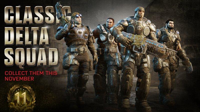 Gears of War 4 celebra l'undicesimo anniversario della serie con un evento