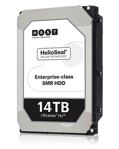 Da Western Digital arrivano i primi hard disk da 14 TB