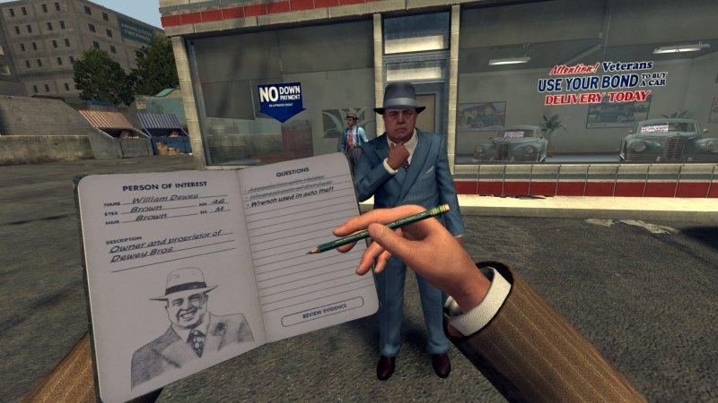 I crimini virtuali di L.A. Noire: The VR Case Files