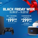 Sony annuncia in anticipo gli sconti per il Black Friday in nord America su PlayStation 4 e PlayStation VR