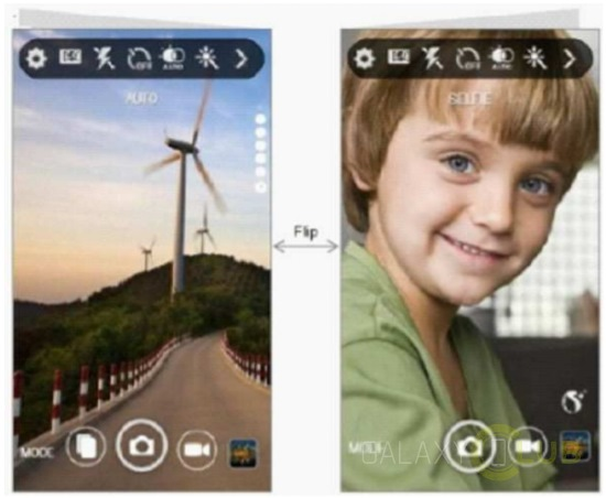 Samsung Galaxy X: alcune immagini svelano quella come potrebbe essere la struttura dell'interfaccia