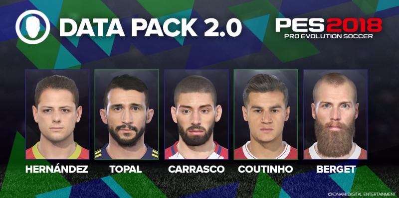 Konami annuncia la data di lancio del Data Pack 2.0 di Pro Evolution Soccer 2018 e la presenza di David Beckham in myClub