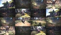 Monster Hunter: World - Video dell'Anjanath al sole