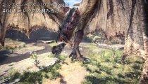 Monster Hunter: World - Video del Rathalos che solleva e lancia