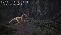 Monster Hunter: World - Video del Kulu-Ya-Ku che mangia