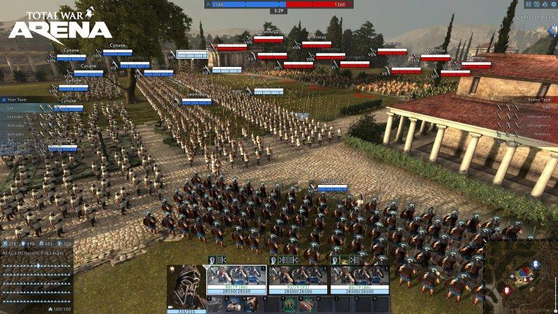 """La guerra """"parziale"""" di Total War: Arena"""