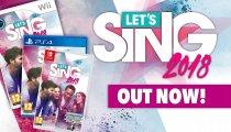 Let's Sing 2018 - Trailer della versione Nintendo Switch