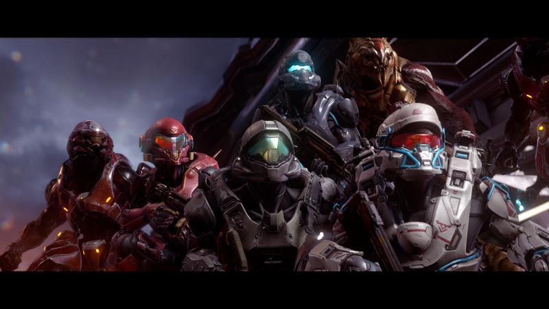 Halo 5 su Xbox One x