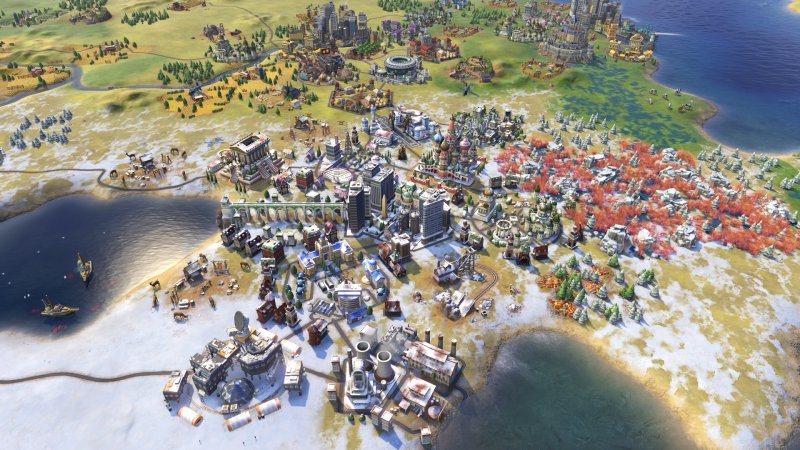 L'anteprima di Civilization VI: Rise and Fall