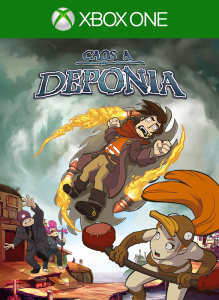 Caos a Deponia per Xbox One