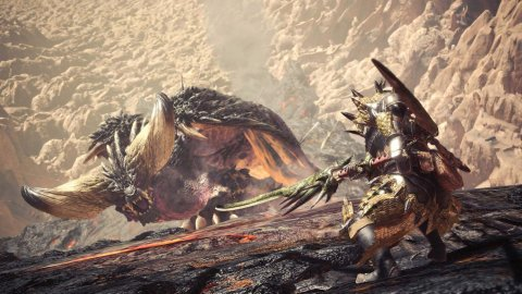 La beta di Monster Hunter: World gira a 1800p o 1080p su PlayStation 4 Pro, ma il frame rate va migliorato