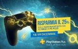 25% di sconto sull'abbonamento PlayStation Plus annuale per un periodo di tempo limitato - Notizia