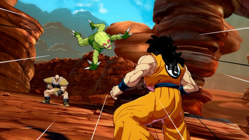 Pare che la popolarità di Dragon Ball FighterZ online stia diminuendo in fretta su Steam